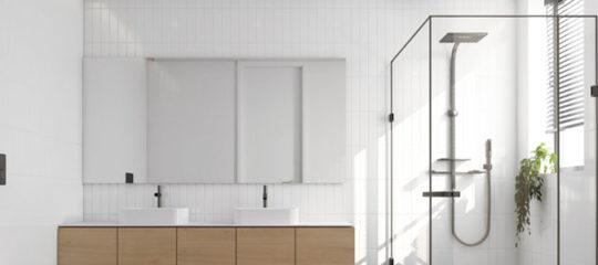 Rénovation de salle de bain achat de matériel et d'accessoires de douche