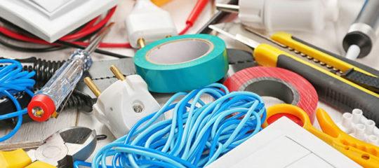 matériel électrique nécessaire avant de réaliser les travaux
