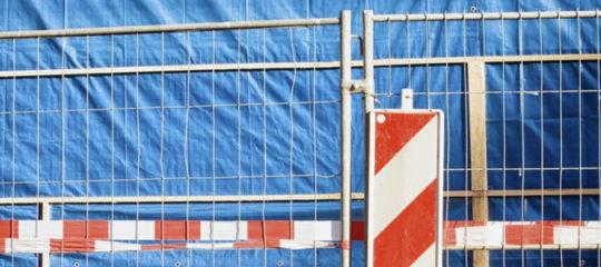 sécuriser le périmètre d'un chantier