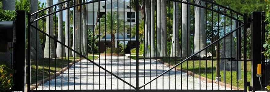 Avantages du portail coulissant